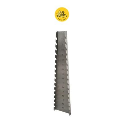 Suporte vertical de tubos endotraqueais
